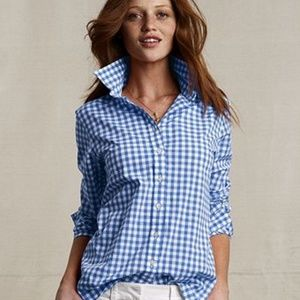 J Crew The Perfect Shirt in Gingham